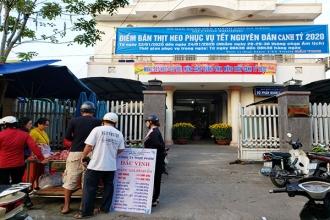 Đà Nẵng: Tổ chức 16 điểm bán thịt heo bình ổn giá trong dịp Tết
