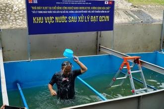Lời qua, tiếng lại xung quanh chuyện làm sạch sông Tô Lịch