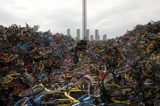 Những 'nghĩa trang' xe đạp chia sẻ ở Trung Quốc giờ ra sao?