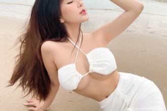 """Hot girl Sài thành khoe dáng """"nuột"""", eo thon, mừng sinh nhật tuổi 20"""