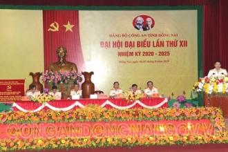Họp trù bị Đại hội đại biểu Đảng bộ CA tỉnh Đồng Nai lần thứ XII