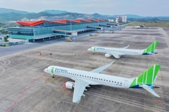 Sân bay Vân Đồn chính thức mở lại các đường bay thương mại đi TP. HCM từ 27/10