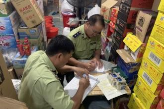 Long An: Liên tiếp xử phạt các cửa hàng kinh doanh thuốc lá lậu