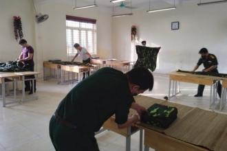 Trường học được tận dụng trở thành khu cách ly tập trung