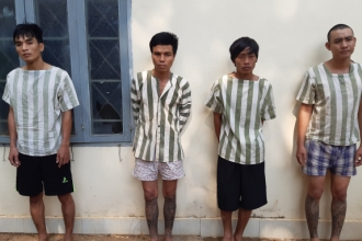 Bắt khẩn cấp băng nhóm trộm xe liên tỉnh tại Đồng Nai