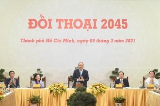 Đối thoại 2045: Doanh nhân, trí thức đóng góp quan trọng cho sự phát triển đất nước