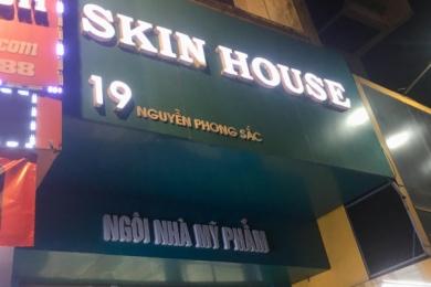 Hà Nội: Quản lý thị trường xử phạt chuỗi cửa hàng mỹ phẩm Skin House vì bán hàng nhập lậu