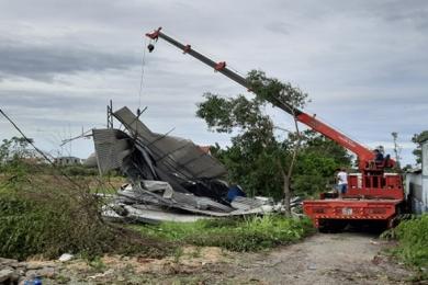 1 người chết, 95 người bị thương, hơn 20 nghìn nhà bị tốc mái do bão ở Thừa Thiên - Huế
