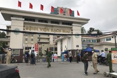 Bệnh viện Bạch Mai những ngày chống Covid-19