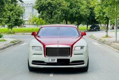 Mới chạy 10.000km, đại gia Việt đã rao bán Rolls-Royce Wraith
