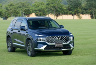 Ưu đãi Hyundai New Santafe 2021