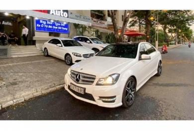 Cận cảnh Mercedes-Benz C300 AMG Plus chỉ 860 triệu ở Sài Gòn