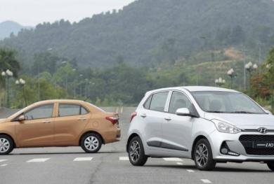 Giảm thuế trước bạ, giá lăn bánh Hyundai Grand i10 chỉ còn 364 triệu đồng