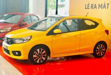 Bảng giá xe ô tô Honda tháng 3/2021: Honda Brio giá 418 triệu đồng đối thủ của I10, Fadil và Wigo