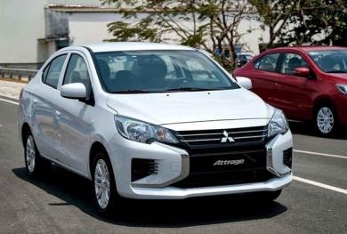 Sedan cỡ B tháng 4: Mitsubishi Attrage lọt top bán chạy, vượt Honda City