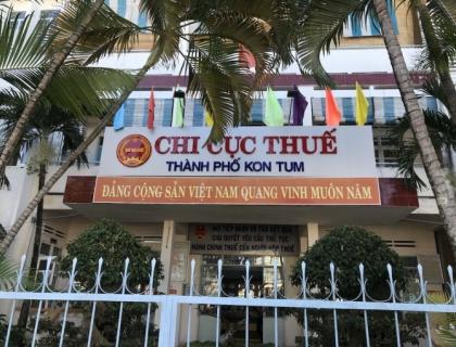 Chi cục thuế TP Kon Tum cố tình gây khó khăn về thủ tục hành chính đất đai?