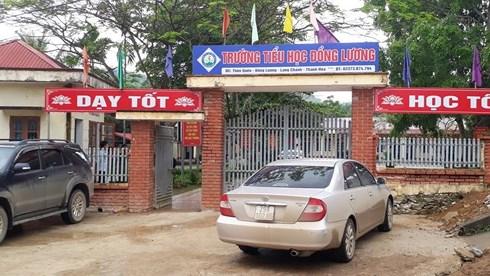 Trường Tiểu học Đồng Lương, nơi xảy ra vụ chém 6 cô trò, gây tử vong một học sinh lớp 5.