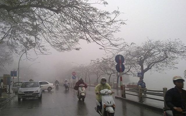 Gió mùa Đông Bắc tràn về Miền Bắc chuyển mưa giông