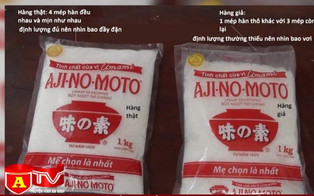 Lật tẩy thủ đoạn sản xuất mì chính giả vô cùng tinh vi