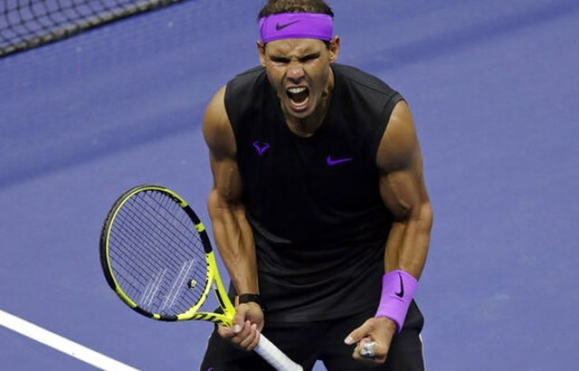 Rafael Nadal lần thứ 8 vào bán kết US Open