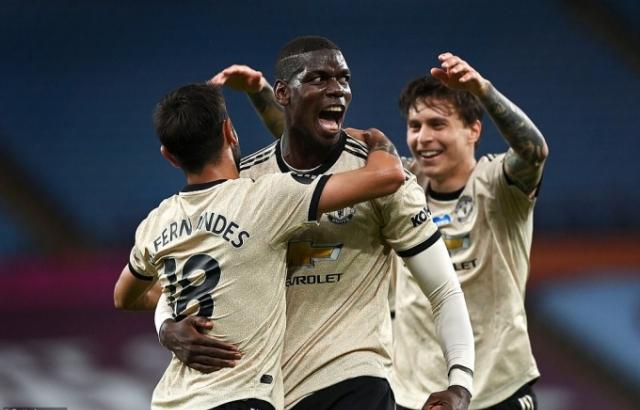Aston Villa 0-3 M.U: Giá trị của những ngôi sao