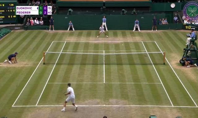 Clip highlights chung kết Wimbledon: Thắng kịch tính Federer, Djokovic giành danh hiệu Grand Slam thứ 16