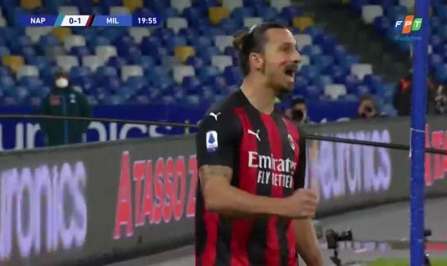 [Clip]: Cú đúp bàn thắng của lão tướng Ibrahimovic