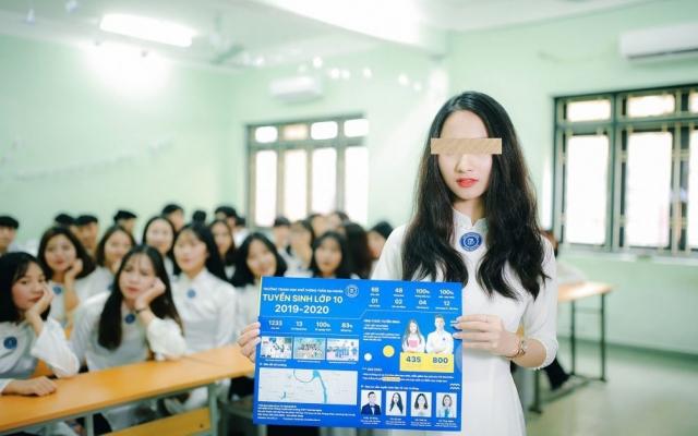 """Trường THPT Trần Đại Nghĩa tuyển sinh """"chui"""""""