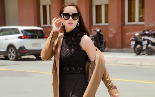 """""""Đả nữ"""" mới của điện ảnh Việt kín đáo xuống phố cuối tuần"""