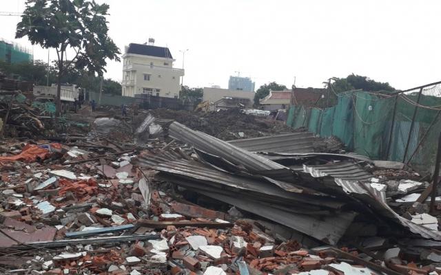 """Người dân """"tố"""" Giám đốc Công ty TNHH Thương mại Xây dựng Lê Thành san phẳng nhà ở, hủy hoại nhiều tài sản"""