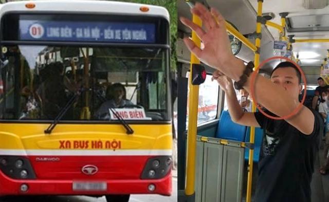 """Tạm giữ người đàn ông lôi """"của quý"""" ra thủ dâm trên xe buýt để làm rõ hành vi dâm ô"""