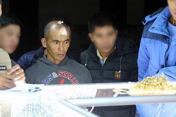 Lâm Đồng: Người dân vây bắt kẻ trộm vàng trong đêm