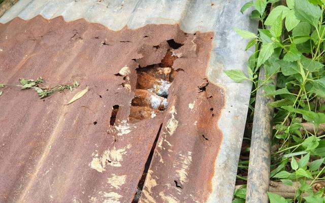 Lâm Đồng: Hoảng hồn phát hiện hầm đạn cối trong lúc múc đất