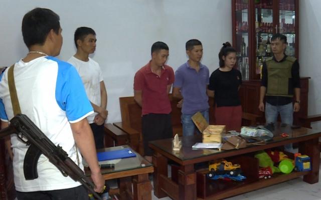 """Huy động hơn 100 cảnh sát tham gia triệt phá các tụ điểm ghi lô đề """"khủng"""" ở Đắk Lắk"""
