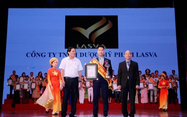 Công ty TNHH dược mỹ phẩm Lasva lọt top 50 thương hiệu nổi tiếng đất Việt 2019