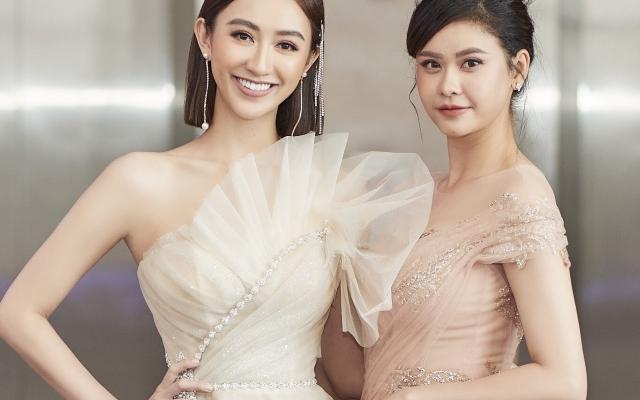 Á hậu Hà Thu cắt tóc ngắn đọ sắc cùng Trương Quỳnh Anh tại sự kiện