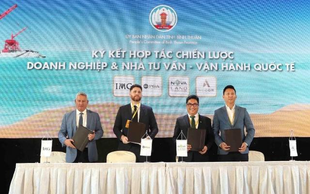 Novaland hợp tác chiến lược cùng đối tác quốc tế The PGA of American, IMG và Accor
