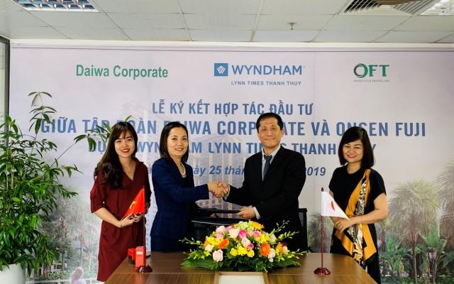 """Wyndham Lynn Times Thanh Thủy """"xuất khẩu"""" căn hộ nghỉ dưỡng sang Nhật Bản"""