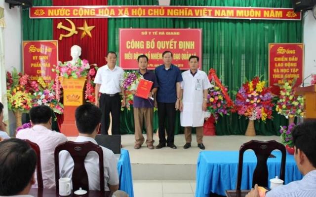 Hà Giang: Điều động, luân chuyển hàng loạt lãnh đạo ngành y tế