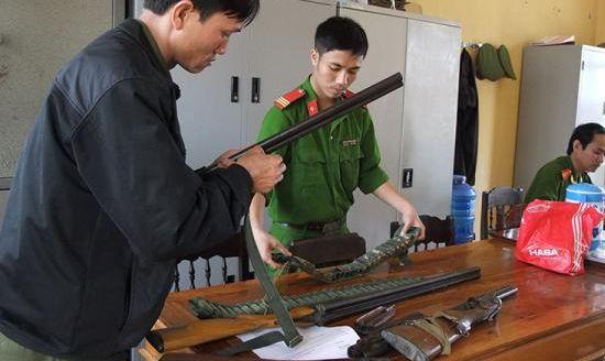 Bắc Giang: Liên tiếp bắt giữ nhiều vụ vận chuyển linh kiện súng hơi