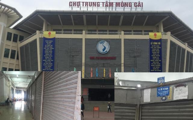 """Quảng Ninh: Hàng trăm tiểu thương """"phát sốt"""" trước việc khảo sát tăng mức thu giá dịch vụ tại chợ Trung tâm Móng Cái"""