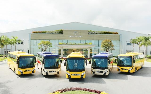 THACO xuất khẩu xe bus thương hiệu Việt sang thị trường Philippines
