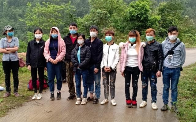 Cao Bằng: Phát hiện 10 công dân nhập cảnh trái phép