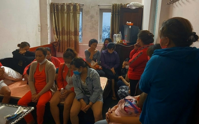 Lâm Đồng: Bắt quả tang hàng chục con bạc đang sát phạt nhau trong khách sạn