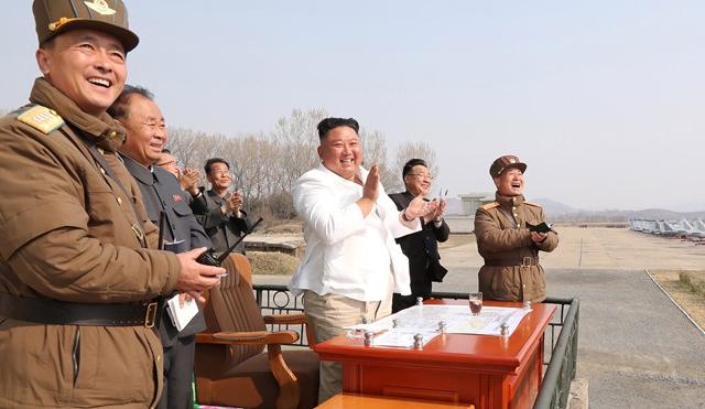 Ông Kim Jong- un đang ở đâu?