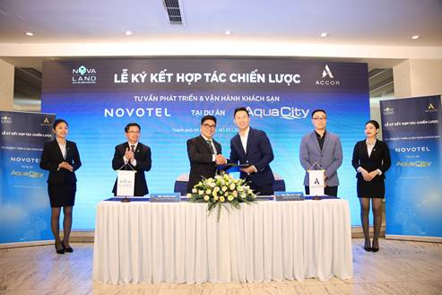 Tập đoàn Novaland ký kết hợp tác cùng Tập đoàn quốc tế Accor