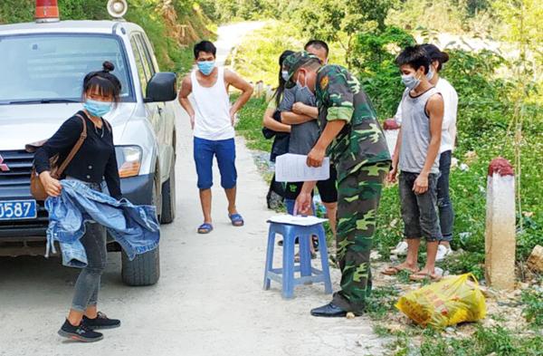 Lào Cai: Đồn Biên phòng Si Ma Cai bắt giữ nhiều đối tượng nhập cảnh trái phép