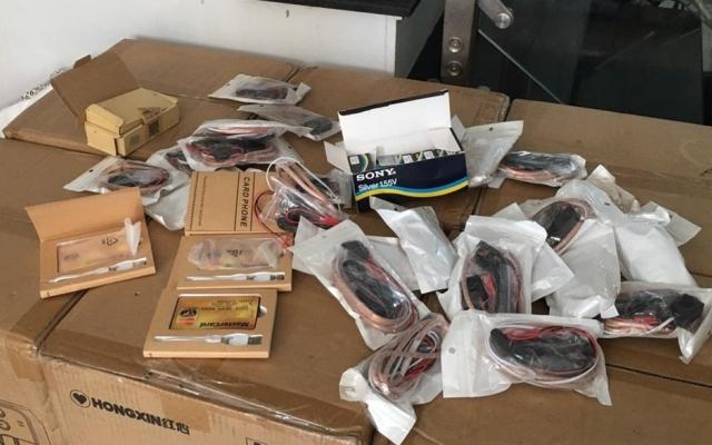 Nhiều thiết bị gian lận trong thi cử THPT vừa bị công an TP Hải Phòng phát hiện