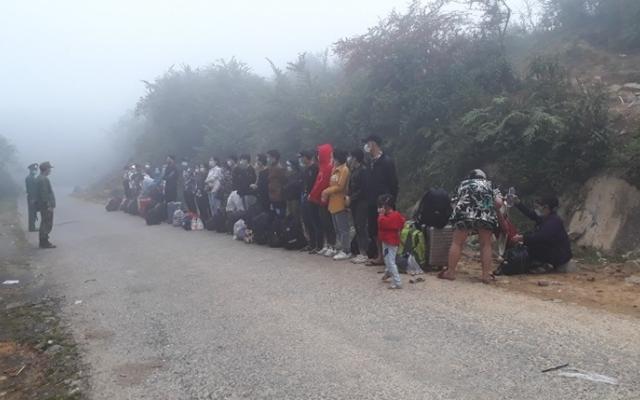Phát hiện, bắt giữ 105 người nhập cảnh trái phép vào Việt Nam