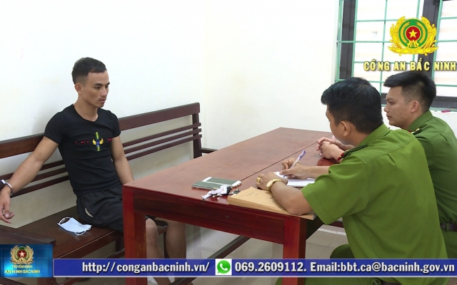 Bắc Ninh: Khởi tố bắt tạm giam đối tượng cướp giật tài sản
